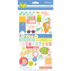 My Minds Eye - Tutti Frutti Stickers 6inch X12inch