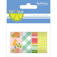 My Minds Eye - Tutti Frutti Washi 4 pack 10 Per Roll