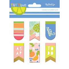 My Minds Eye - Tutti Frutti Magnetic Clips 6 pack