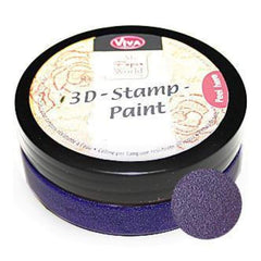 Viva Decor - 3D Stamp Paint 50Ml - Violet