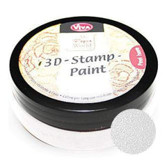 Viva Decor - 3D Stamp Paint 50Ml - White