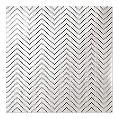 We R Memory Keepers - Clearly Posh Acetate Sheets 12Inch X12inch  - Chevron Dot  With Black Foil