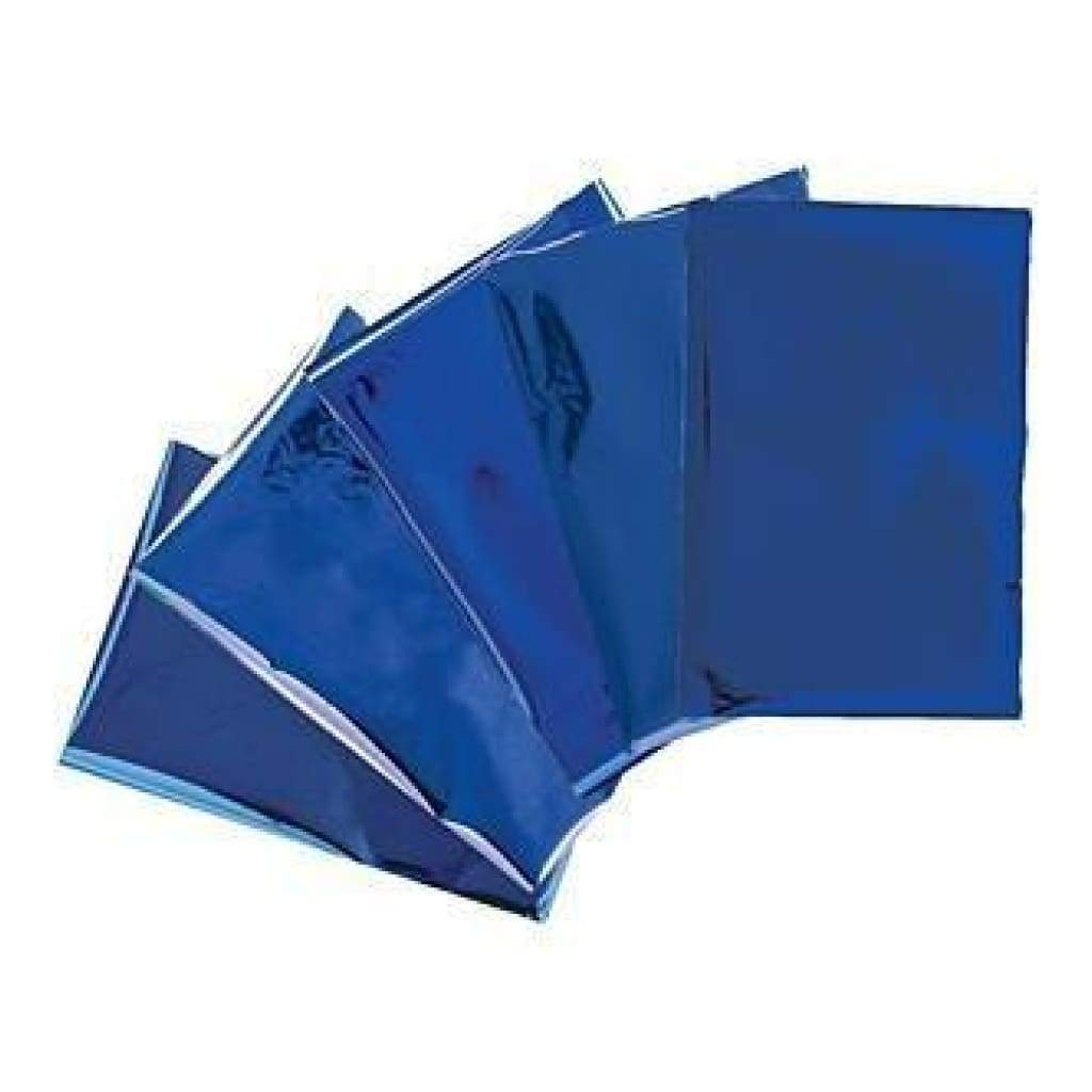 We R Memory Keepers  - Heatwave Foil Sheets 4 Inch X6 Inch  30 Pack  Blue