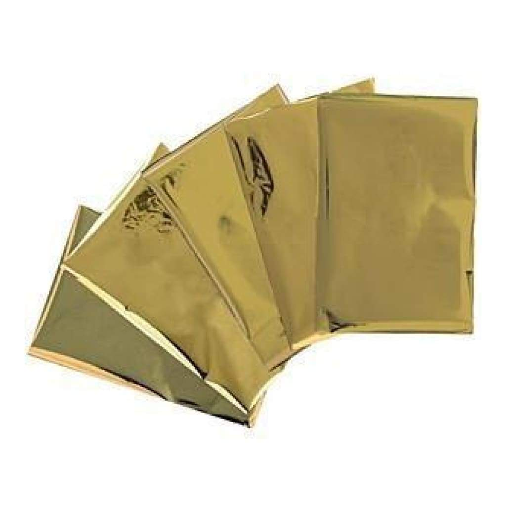 We R Memory Keepers  - Heatwave Foil Sheets 4Inch X6inch  30 Pack  - Gold