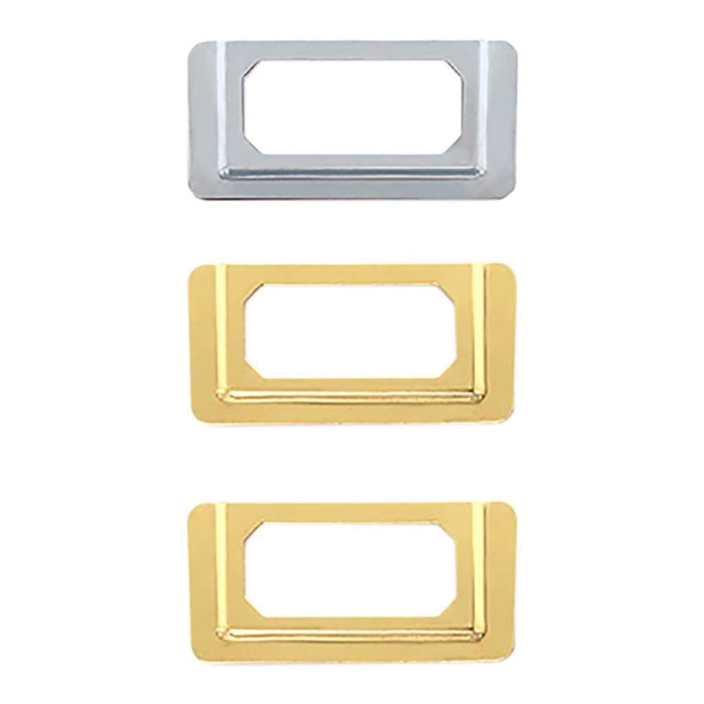 We R Memory Keepers LabelIT .75 inch Bookplates 4 pack Gold