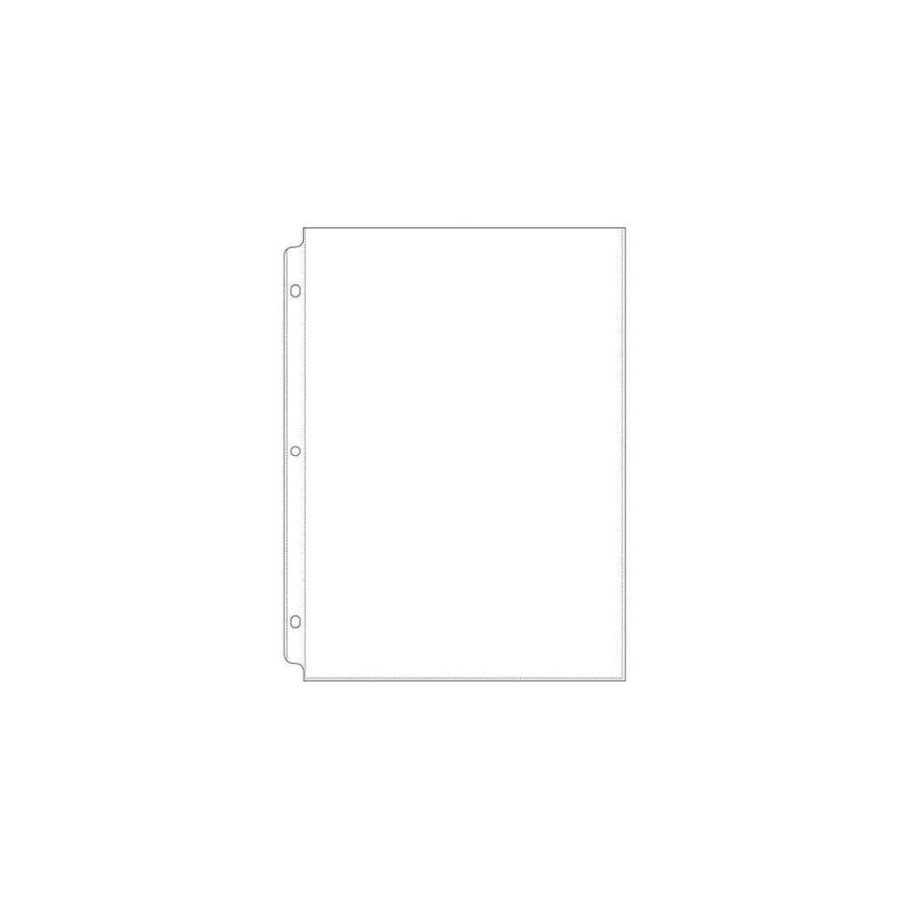 We R Ring Photo Sleeves 8.5 inch X11 inch 10 pack Full Page