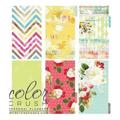 Webster's Pages -Colour Crush A2 Personal Planner Divider Set Kit - Count Your Blessings