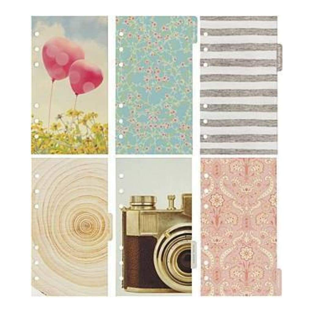 Webster's Pages -Colour Crush A2 Personal Planner Divider Set Kit - Dream In Colour