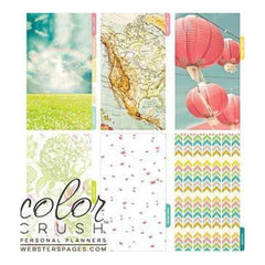 Webster's Pages -Colour Crush A2 Personal Planner Divider Set Kit - Life Is Beautiful