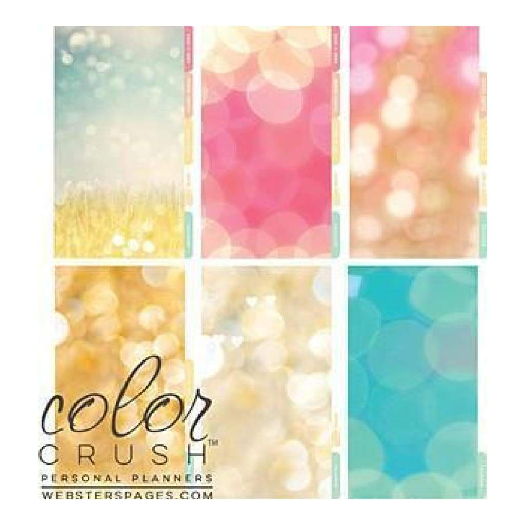 Webster's Pages -Colour Crush A2 Personal Planner Divider Set Kit - Today Is A Great Day
