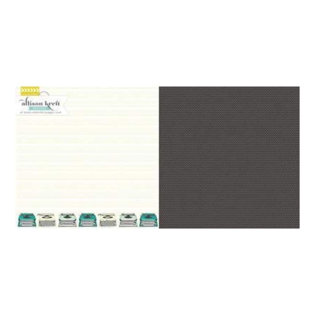 Websters Pages - Composition & Colour - True Story 12X12 D/Sided Paper (Pack Of 10)