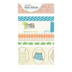 Websters Pages - Palm Beach - Fabric Ribbon