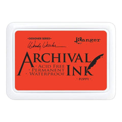 Wendy Vecchi Archival Ink Pad - Poppy