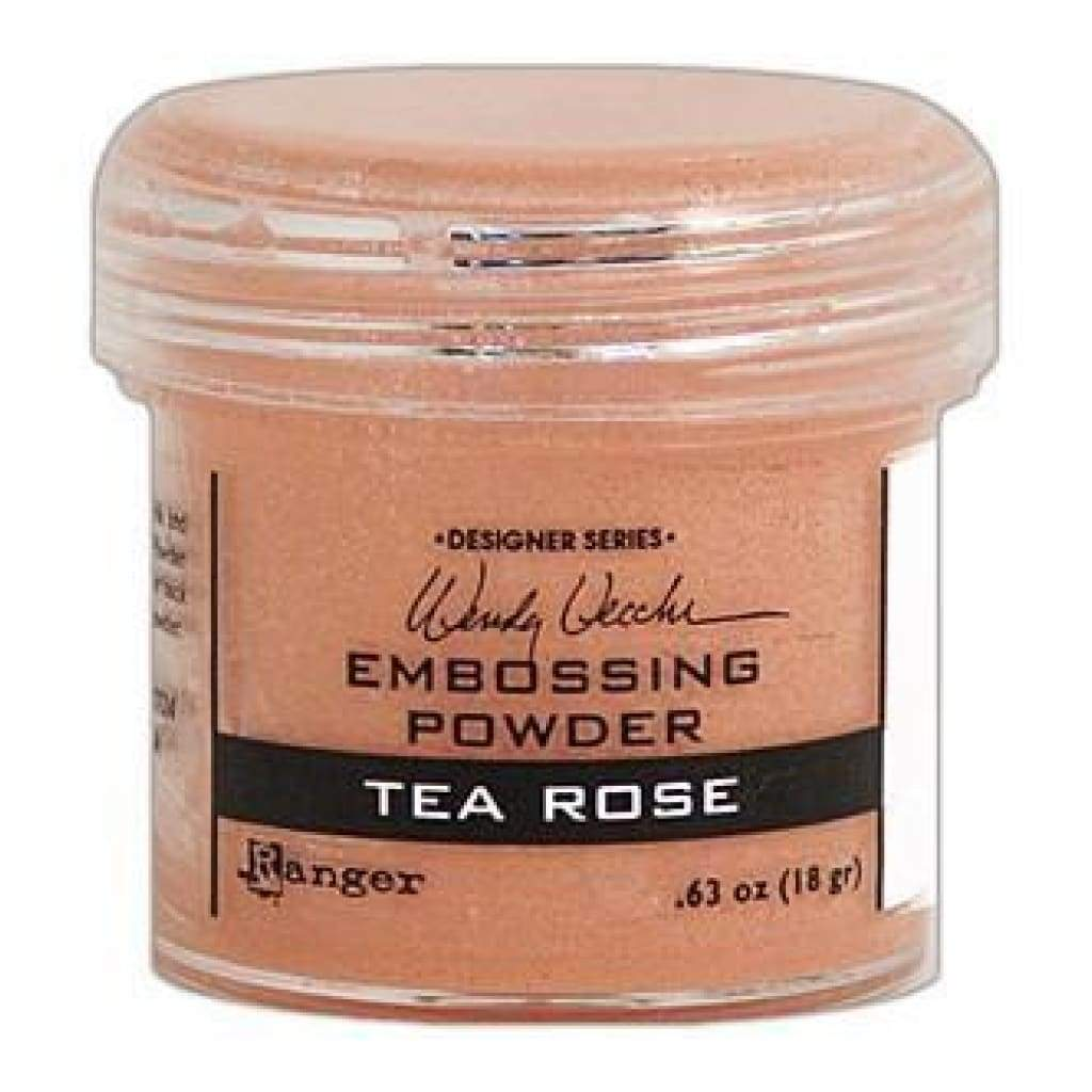 Wendy Vecchi Embossing Powders 1Oz Tea Rose