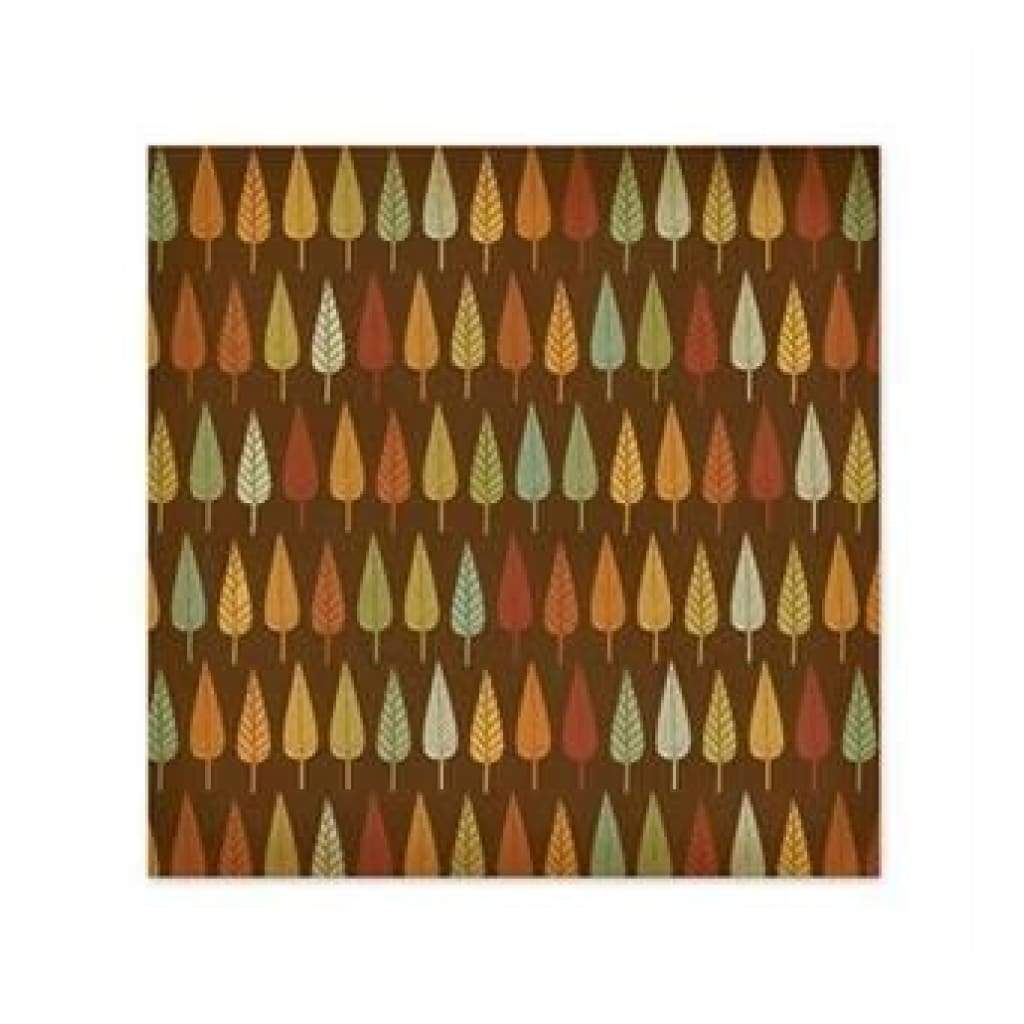 Wer Memory Keepers - Autumn Splendour - Autumn Leaf 12X12 Glitter Paper