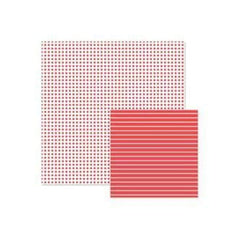Wer Memory Keepers - Basics - Red Dot 12X12 Double-Sided Paper