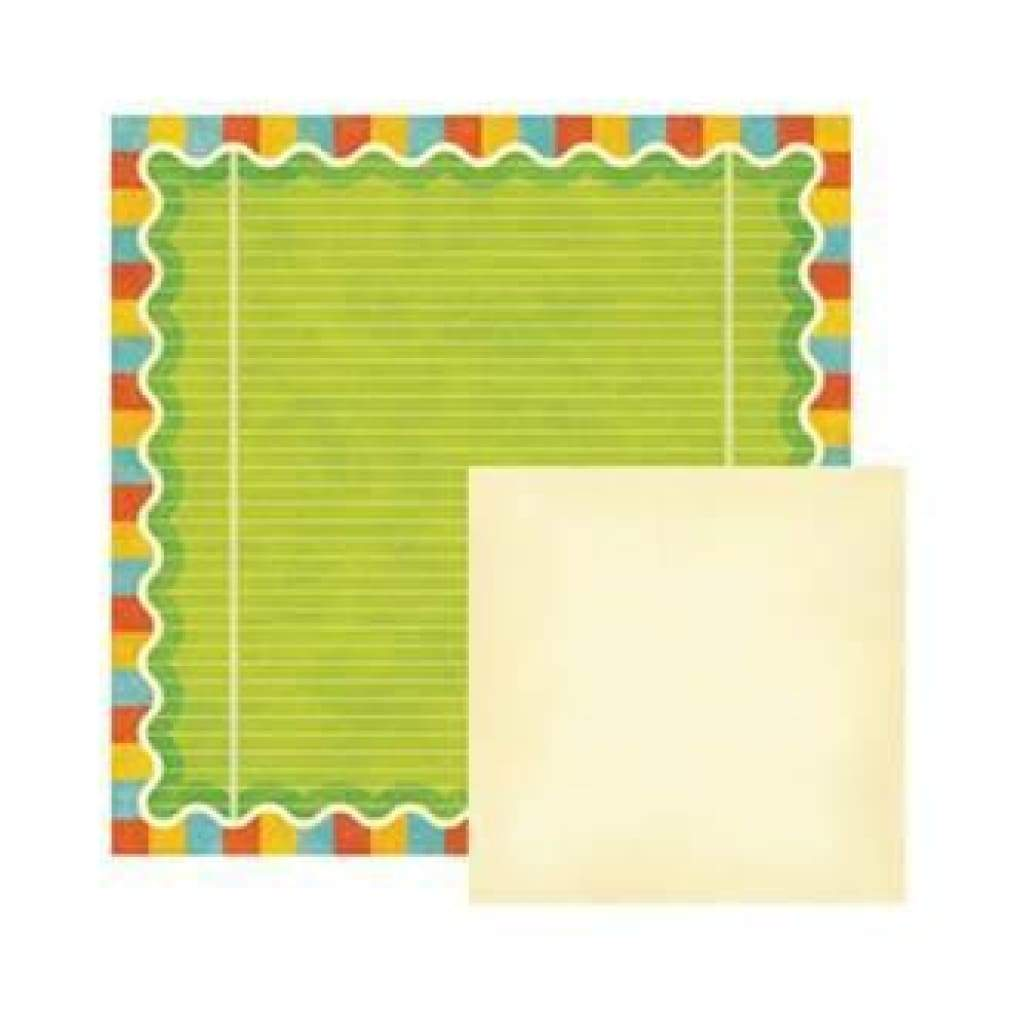 Wer Memory Keepers - Funfetti - Birthday 12X12 D/Sided Paper (Pack Of 10)