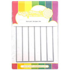 Waffle Flower Crafts - Dies - Vertical Stripes