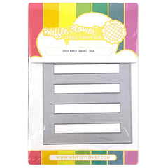 Waffle Flower Crafts - Dies - Shutters Panel