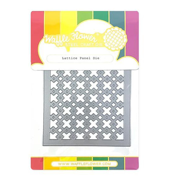 Waffle Flower Die - Lattice Panel