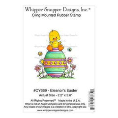 Whipper Snapper Cling Stamp 4 Inch X6 Inch  Eleanor's Easter