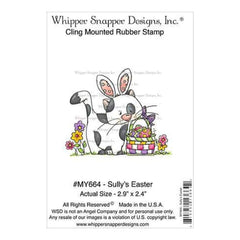 Whipper Snapper Cling Stamp 4 Inch X6 Inch  Sully's Easter