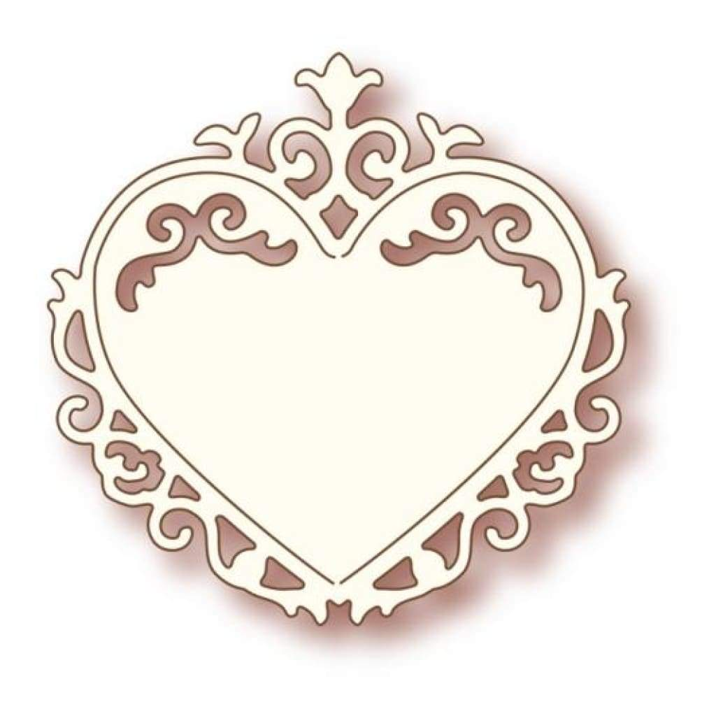 Wild Rose Studio Speciality Die - Ornate Heart