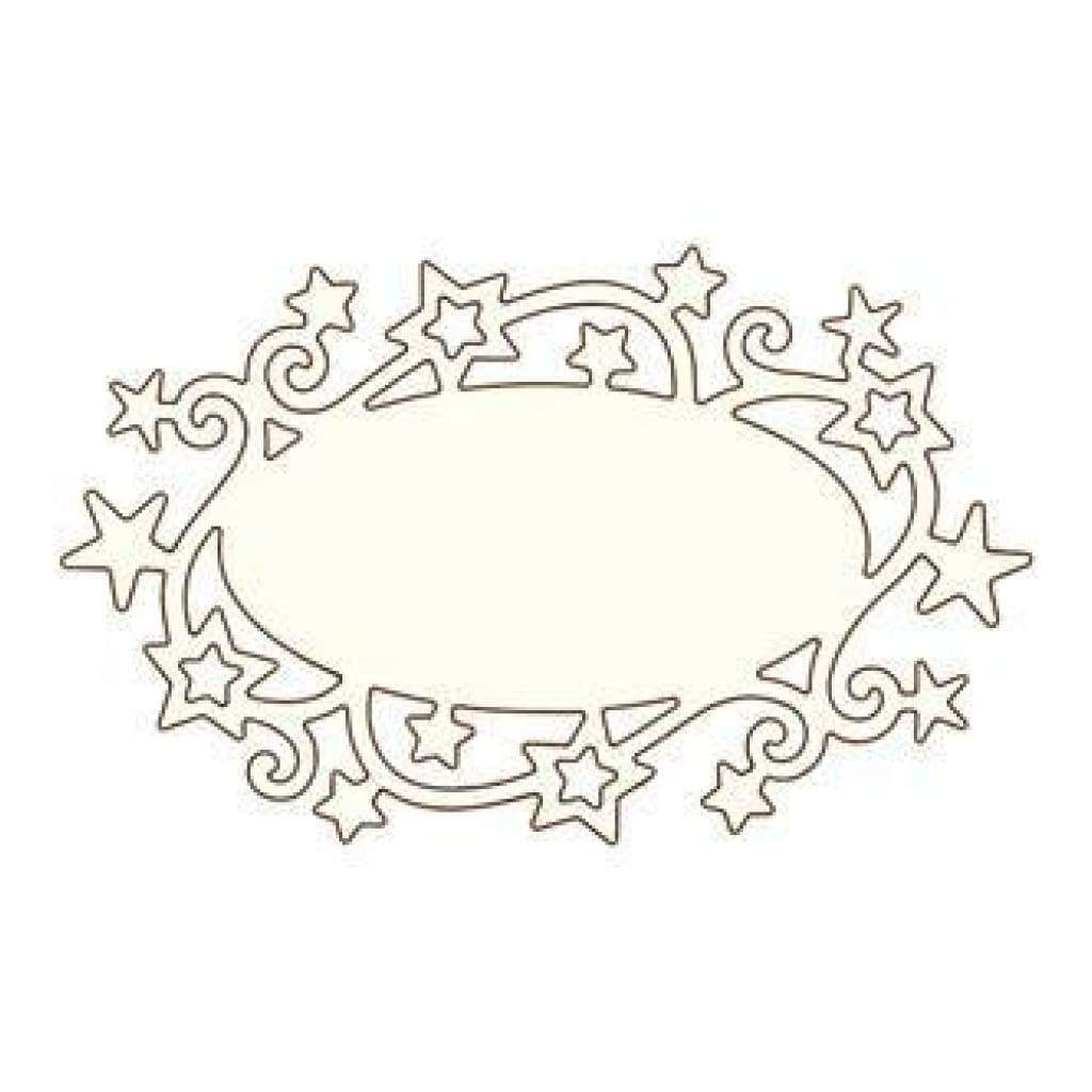 Wild Rose Studio Specialty Die Star Label