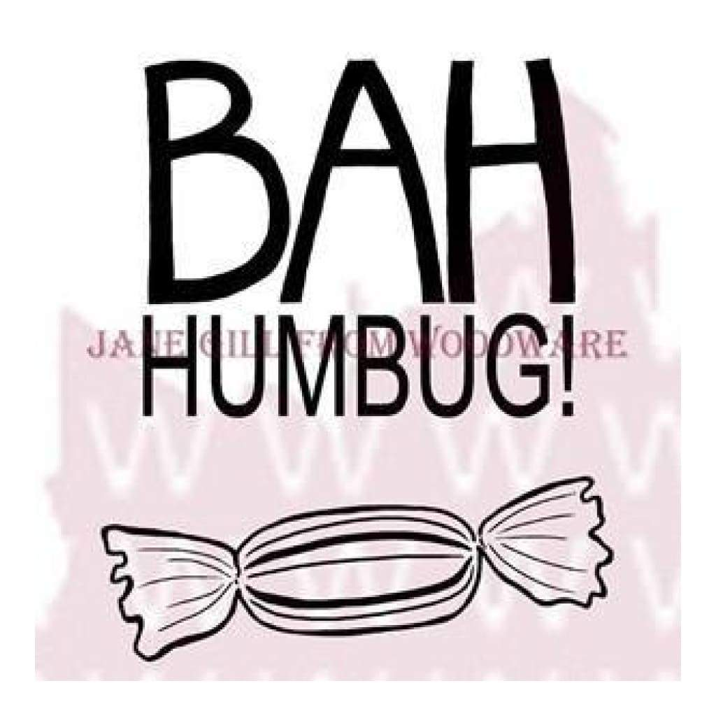 Woodware Clear Stamps 3.5Inch X3.5Inch  Sheet Bah Humbug!