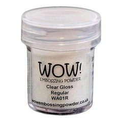 Wow! Embossing Powder 15Ml Clear Gloss