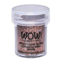 Wow! Embossing Powder 15Ml Metallic Copper Sparkle