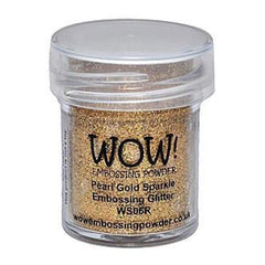Wow! Embossing Powder 15Ml Pearl Gold Sparkle