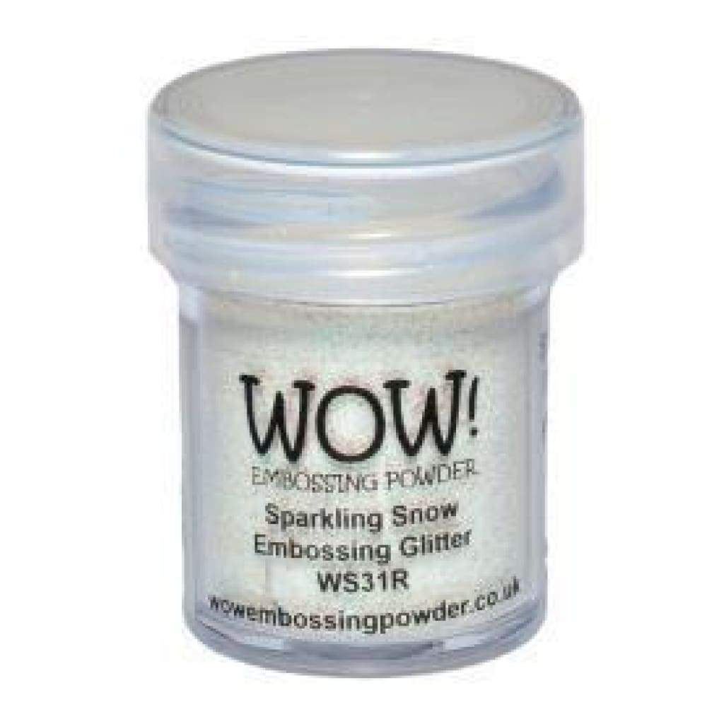 Wow! Embossing Powder 15Ml Sparkling Snow