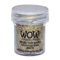 Wow  Embossing Powder - Gold Sparkle