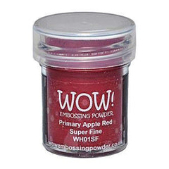 Wow  Embossing Powder - Primary Apple Red - Super Fine