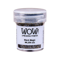 Wow  Embossing Powder - Black Magic
