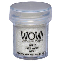 WOW! Embossing Powder 15ml - White Puff UH