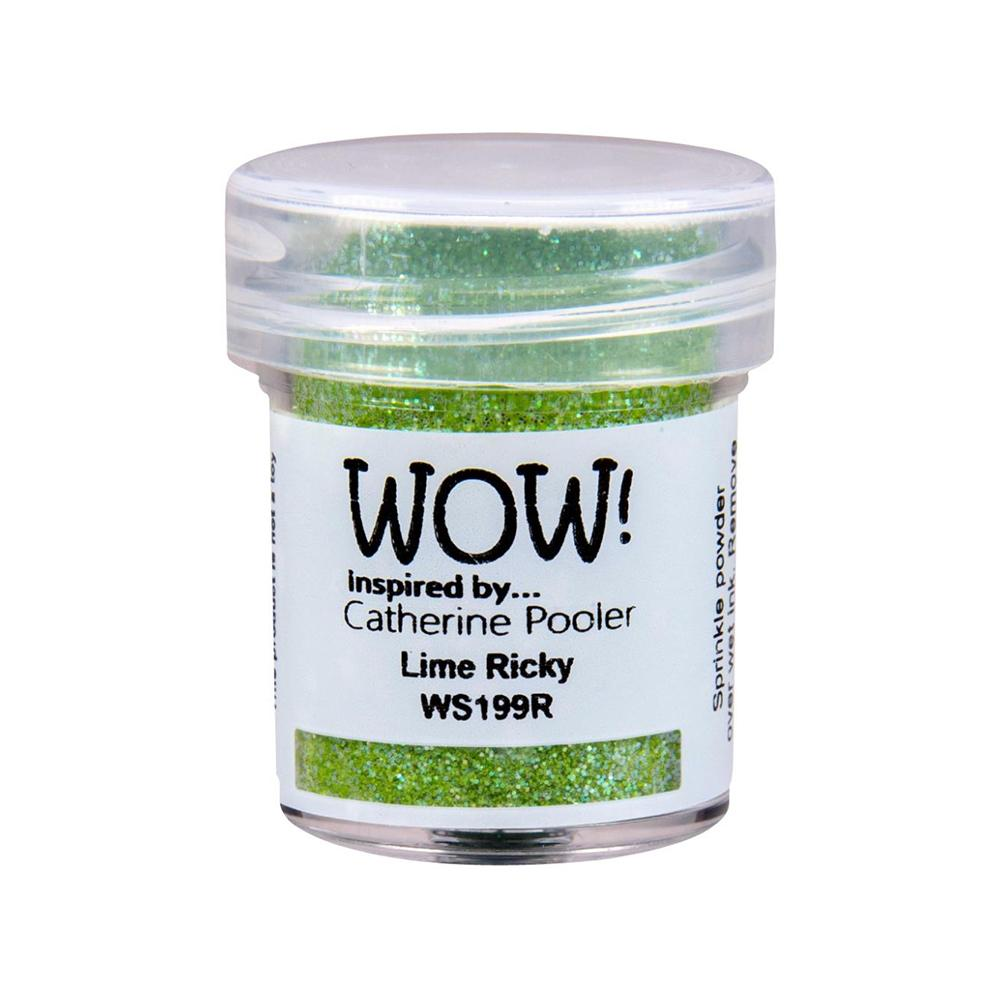 Wow  Embossing Powder - Lime Ricky