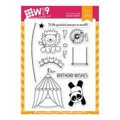 WPLUS9 - Stamp set - Big Deal Additions
