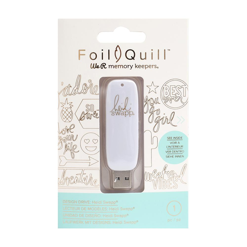 We R Memory Keepers Foil Quill USB Artwork Drive Heidi Swapp