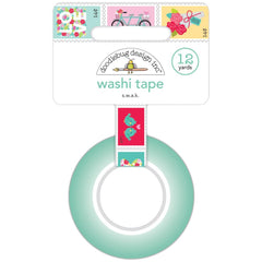 Doodlebug Washi Tape 15mmX12yd - S.W.A.K., Love Notes