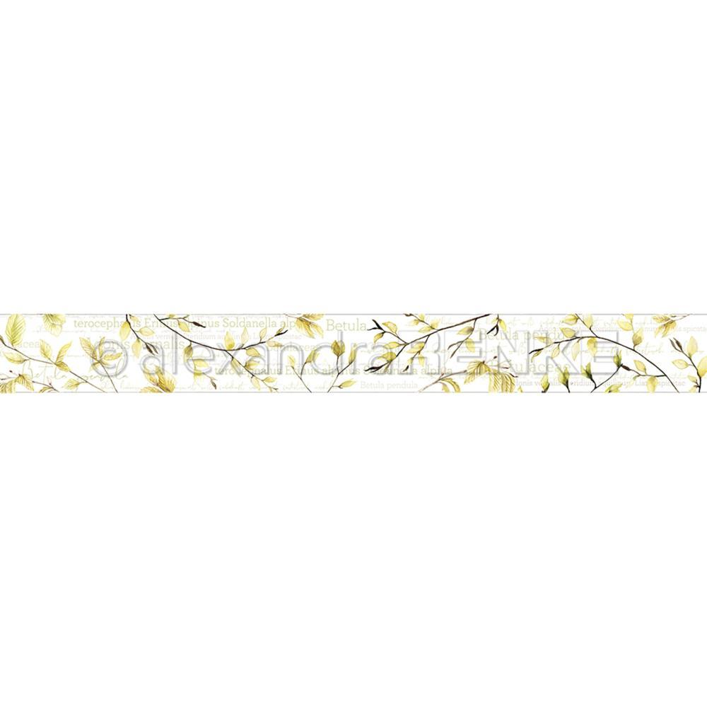 Alexandra Renke Washi Tape 30mmX10m Birch Leaves, Spring