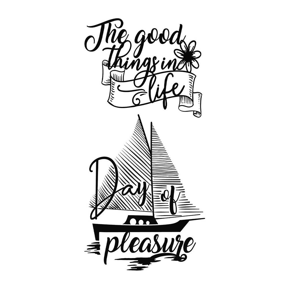 Stamperia Cling Stamps - Sailing Ship By Johanna Rivero