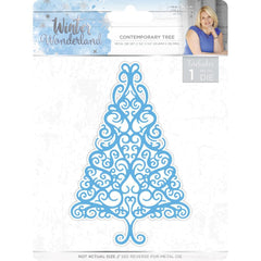 Sara Davies Signature Winter Wonderland Die Contemporary Tree