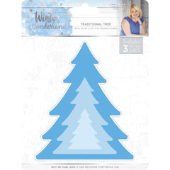 Sara Davies Signature Winter Wonderland Die Traditional Tree