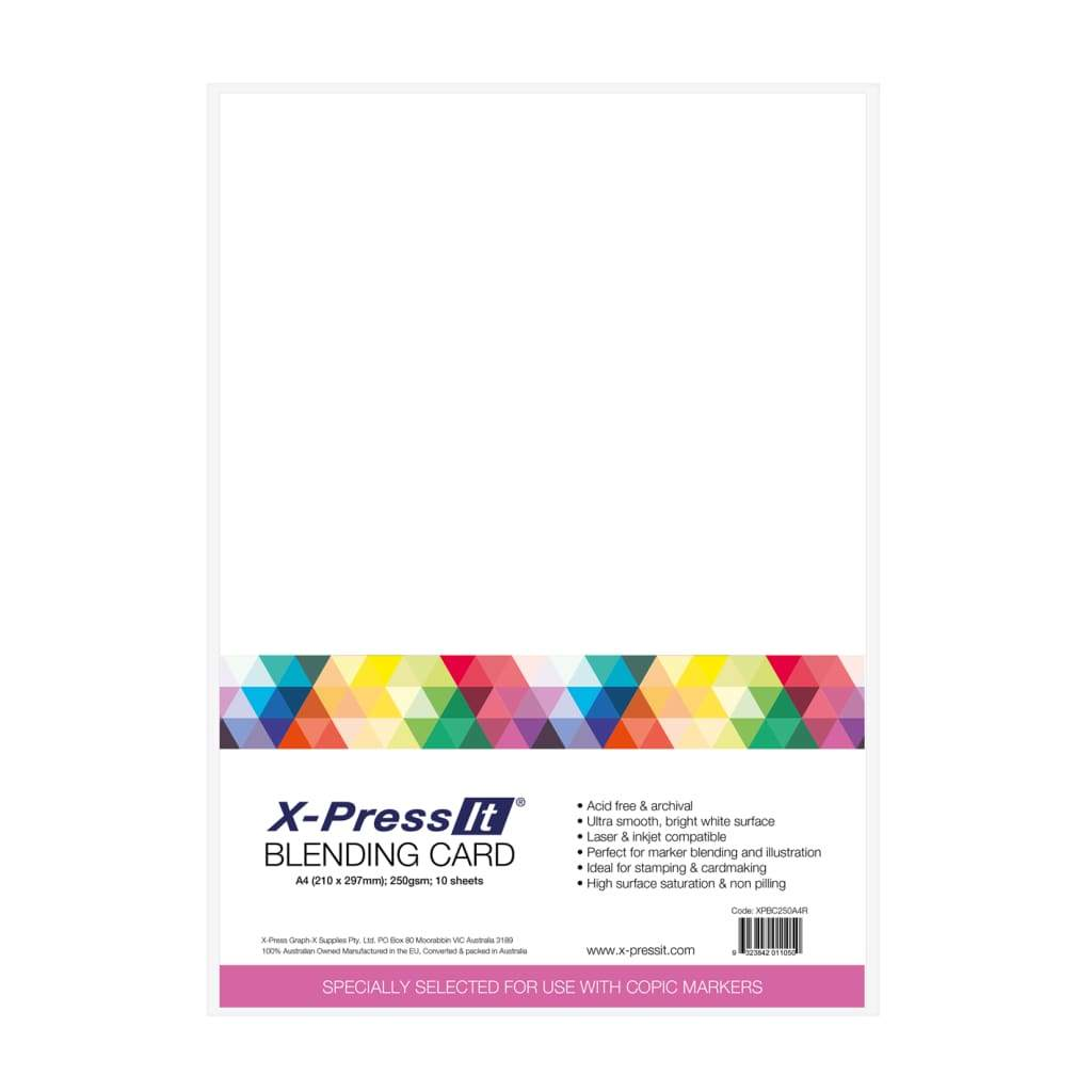 X-Press It A5 Blending Card