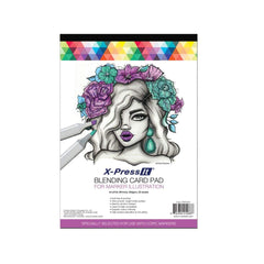 X-Press It Blending Card Pad 20 sheets A4