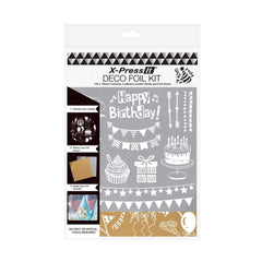 X-Press It - Deco Foil Kit - Party