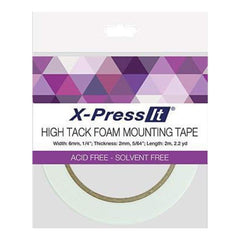 X-Press It Double Sided Foam Tape - 1/4 Inch