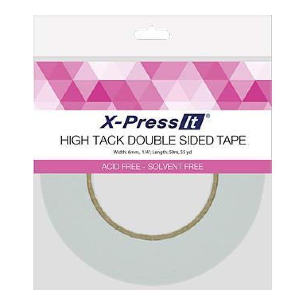 X-Press It Double Sided Tape High Tack 6Mm X 50M